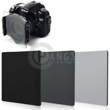 100x143mm ND2+ND4+ND8 Neutral Density Filter For Cokin Z-Pro Hitech Lee Holder