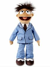 Disney Store Authentic Muppets Most Wanted Plush Walter In Blue Suit
