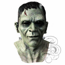 Halloween Latex Frankenstein Mask with Chest Horror Dress Costume Party Masks