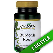 Burdock Root 460 mg 100 Caps by Swanson Premium