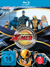 4 Marvel BLU-RAY Filme Astonishing X-Men - Gifted & Dangerous & Unstoppable NEU