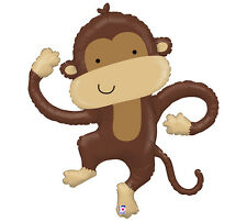 Cute Linky MONKEY Birthday Baby Shower Jungle Zoo Party Balloon
