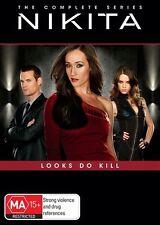 Nikita : Season 1-4 (DVD, 2014, 17-Disc Set)