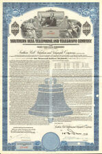 Southern Bell Telephone and Telegraph Company $1,000 bond certificate