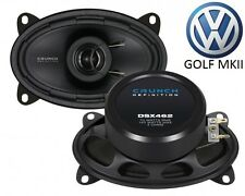 CRUNCH6x4 COAXIAL SPEAKER FOR VW Golf 2 - 1983-1992 PERFECT FIT