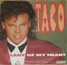 "Taco, Lady of my heart, VG+/EX 7"" Single 0712"