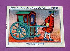 LES MOYENS DE LOCOMOTION VINAIGRETTE CHROMO CHOCOLAT PUPIER JOLIES IMAGES 1930