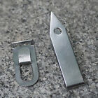 Stainless Steel EDC Gear Tweezers Gripper Pocket Survival Tool Keychain Camping