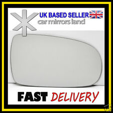 Right Driver Wing Car Mirror Glass CONVEX VAUXHALL CORSA C 2001-2006