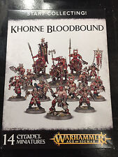 Warhammer Age of Sigmar Fantasy Start Collecting Khorne Bloodbound