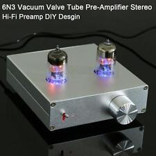 Audio 6N3 Vacuum Valve Tube Pre-Amplifier Stereo Hi-Fi Preamp DIY Desgin Kit New