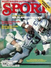 1982 (Jan.) Sport Magazine, Football Tony Dorsett, Dallas Cowboys EX