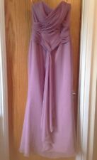 LONG DRESS 10 Lilac BRIDESMAID Party Prom WEDDING Strapless Impression Bridal