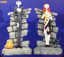 Tim Burton Nightmare Before Christmas Bookends Jack Skellington & Sally NECA NBX