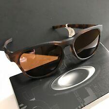 Oakley OO9315-02 Stringer Black Matte Brown Tortoise Sunglasses NWT Box Unisex