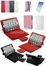 """WIRELESS BLUETOOTH KEYBOARD LEATHER CASE COVER STAND FOR IPAD AIR/MINI/PRO 9.7"""""""