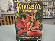 Vintage Pulp Fantastic Adventures May 1950 Volume 12 Number 5 Geoff St. Reynard
