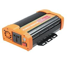 Modified Sine Wave 300W 600W 1000W 1000 Watt Power Inverter Peak 2000W DC 12V...