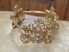Bourbon And Boweties Inspired Disney Cinderella Carriage Wrap Sparkle Bracelet