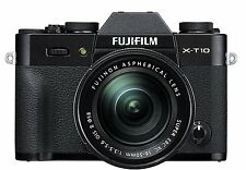 Fujifilm X-T10 Black Mirrorless Digital Camera W/ XC16-50mm F3.5-5.6 OIS NEW NEW
