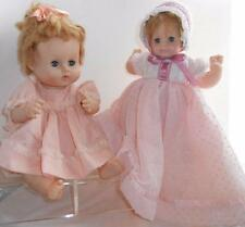 two dolls! a little TLC! dressed & cute VOGUE GINNY BABY dolls 1960s