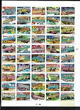 3610a 34c Greetings from America Sheet of 50 MNH