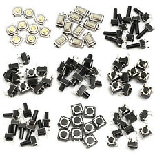 140pcs 10 Types Momentary Tactile Push Button Switch Micro SMD SMT Tact Switches