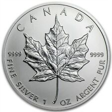 1 oz Silber Silbermnze Silver Maple Leaf 2013 5$ Canadian Canada Kanada NEU