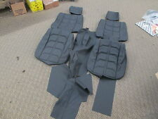 Ferrari 308 Seats, Center Console,  Interior Leather Set - Black
