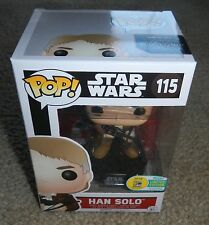 SDCC 2016 FUNKO POP STAR WARS HAN SOLO WITH CHEWIE'S BOWCASTER LIMITED EDITION