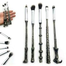 Set of 5 Harry Potter Inspired Wizards Magic Wand Make Up Brushes Cosmetic