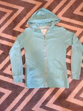 Victoria's Secret Angel Teal/light Blue Zip Up Hoodie Sz/S