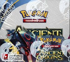 POKEMON XY ANCIENT ORIGINS BOOSTER BOX BLOWOUT CARDS