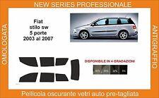 pellicola oscurante vetri pre-tagliata Fiat stilo 5 porte sw comp