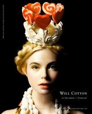Will Cotton:Candy Heart-Girl/Candy Crown-Painting-Artist Exhibition Ad Art Print