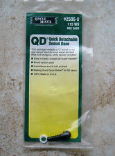 New Uncle Mike's QD Quick Detachable Swivel Base 2505-0 Wood Screw Swivel 115 WS