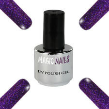 UV Polish Soak Off Gel Nail Art Nagellack Farbe # Purple Passion