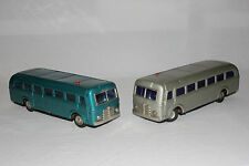 2 Masudaya MT Modern Toys Tin Battery Op Remote Control Radicon Bus Buses L@@K
