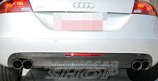 AUDI 8J MK2 TT HIGH QUALITY REAL CARBON fiber REAR DIFFUSER 2006-2010 A052