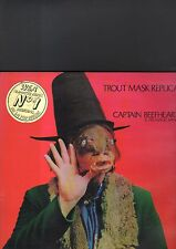 CAPTAIN BEEFHEART and his magic band - trout mask replica LP