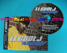 CD Singolo LL Cool J Headsprung LLCJCDP1 EUROPE 2004 PROMO no mc lp vhs(S25)