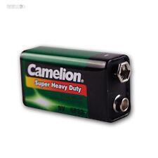 Pile monobloc 9V Camelion Zinc/Carbone 9,0 Volt Blockbattrie 9 V Bloc Batterie