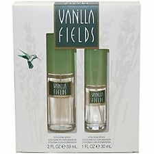 Vanilla fields by coty gift set 60ml and 30ml bottle for women her