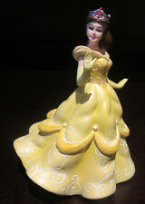 RARE Disney Princess Belle Beauty and the Beast Porcelain Resin Figure Statue