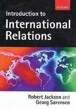 Introduction to International Relations, Robert Jackson, Georg Sorensen, Good Bo