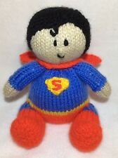 MODELO DE PUNTO - Superman inspirado chocolate naranja funda or 14 cms toy
