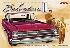 Moebius 1/25 1965 Plymouth Belvedere Plastic Model Kit 1218 NEWTOOLING
