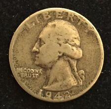 25 Cent 1946 USA Washington Silver Quarter .900