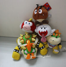 Super Mario Bros King Bowser Koopa bowser Plush toy Boo Ghost Goomba Pukupuku