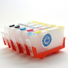 Refillable Cartridge for HP 564 Cartridges with Bonus Washer (No Chip)